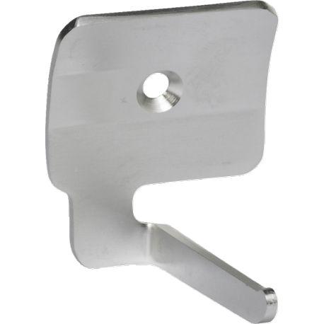 0616 - SUPPORT MURAL ACIER INOX 58 X 70 X 48 mm