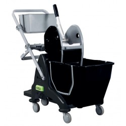 E 274153 CHAR - TRISTAR 215 - Chariot de lavage - 12+18L sans presse STRONG