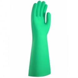 0112324 - Gant de plonge nitrile vert longueur 455mm - la paire