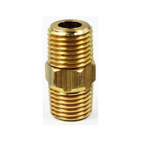 "300A001 - Adaptateur laiton M x M Ø ¼"" G"