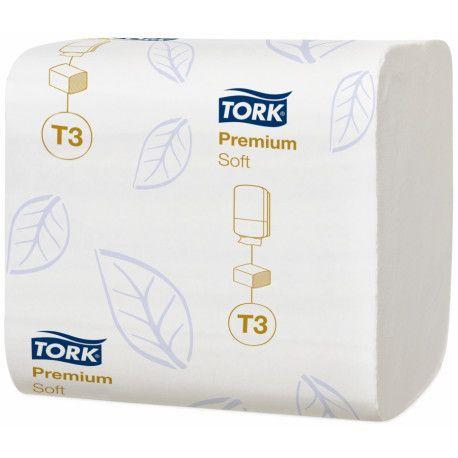 Papier toilette Ecolabel 2 plis Tork T3-7 560 formats