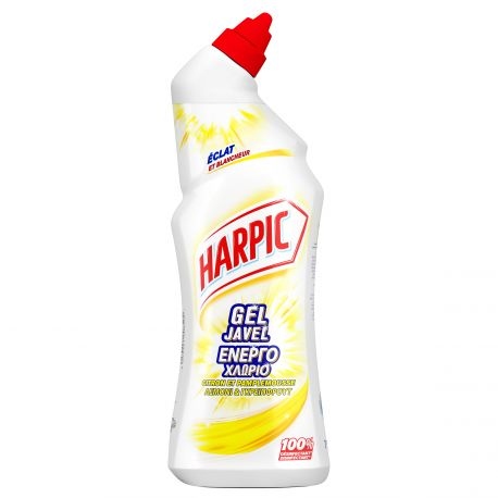 Gel Javel désinfectant WC Harpic flacon 750 ml