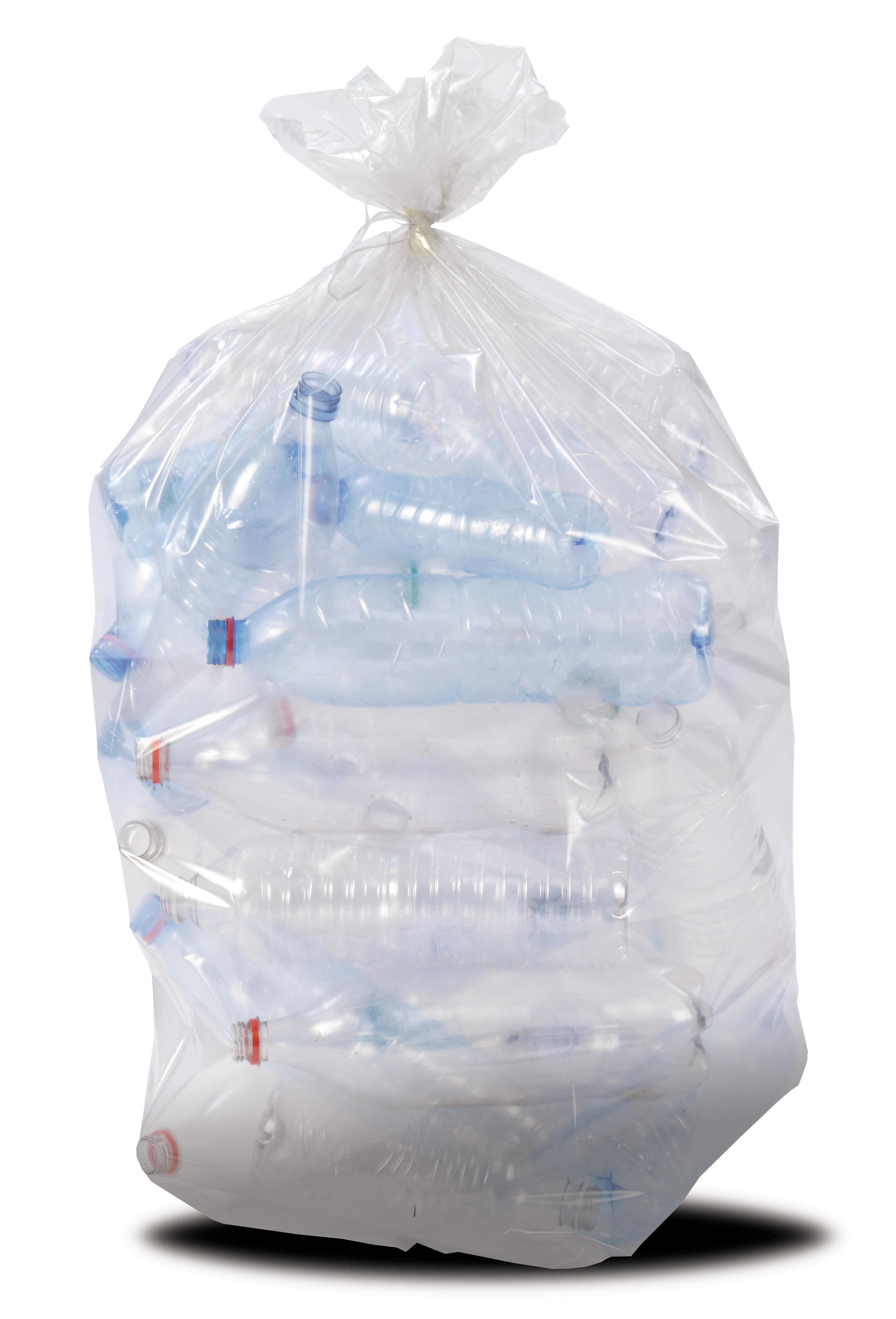 les 200 sac poubelle 110L transparent