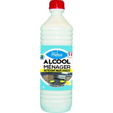 FLACON ALCOOL CITRON