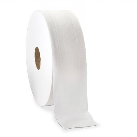 Papier toilette mini jumbo Ecolabel 2 plis - de 12 bobines de 180 m