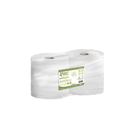 Papier toilette maxi Jumbo 2 plis - colis de 6 bobines de 380 m