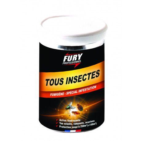 Insecticide fumigène Fury boîte 30 g