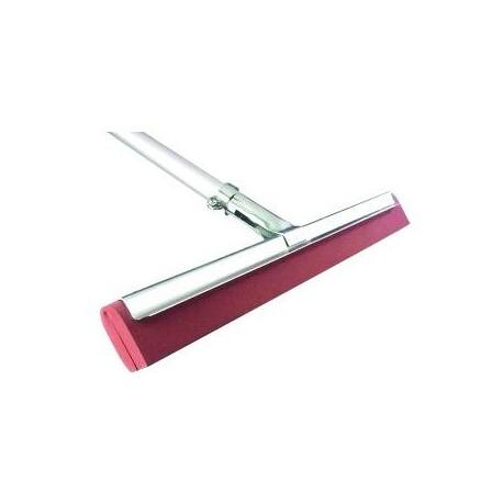 N730202 - Raclette sol industriel à mousse rouge 55cm
