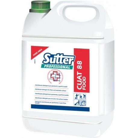 CUAT 88 Food - 5L - Détergent dégraissant désinfectant