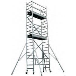 TOS - Echafaudage roulant en aluminium TOPLIGHT longueur 1.80 m