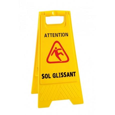"""E 270791 ACC - Panneau de signalisation """"Sol glissant"""""""